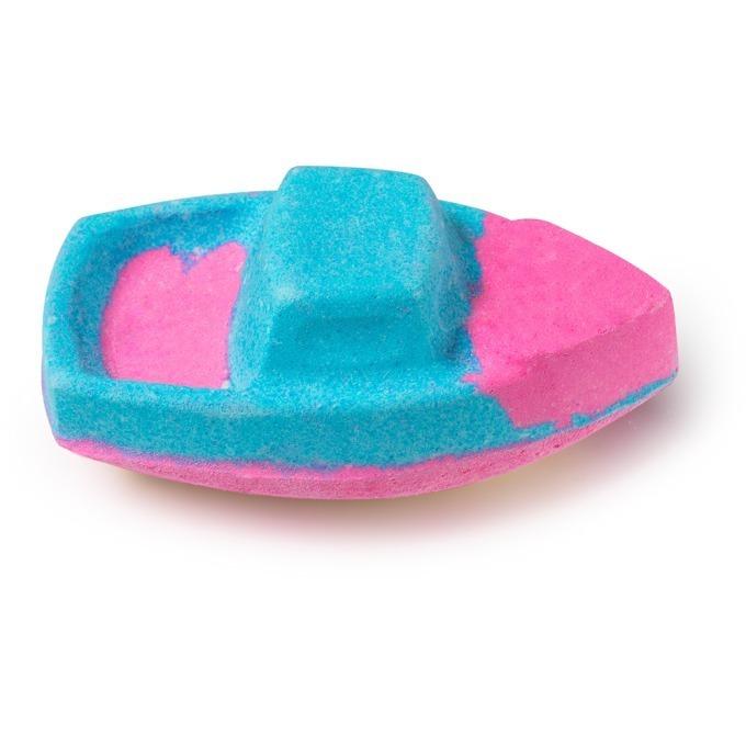 ラッシュから、パステルラメの泡風呂ができるバレンタイン限定バスグッズ