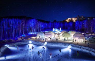 星野リゾートトマム、氷の街で「氷のアフタヌーンティー」