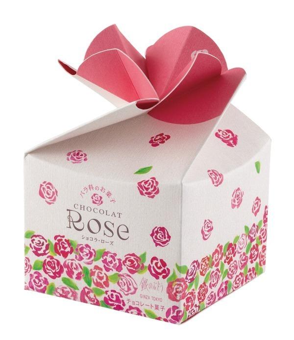 """銀のぶどう""""真っ赤なバラ""""入り春スイーツ「ショコラ・ローズ」"""