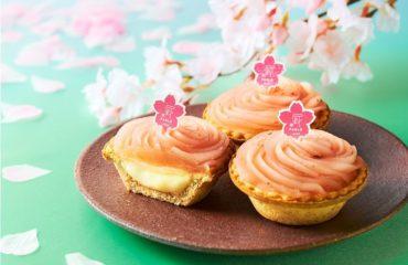パブロミニ春限定「さくらもち」上品な桜あん×モチモチ食感のチーズタルト