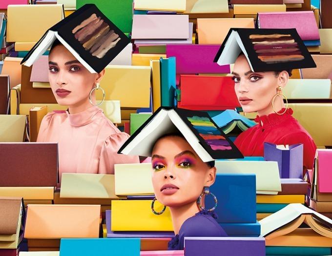 M·A·Cから、新作アイシャドウ&フェイスカラーパレット「アート ライブラリー」