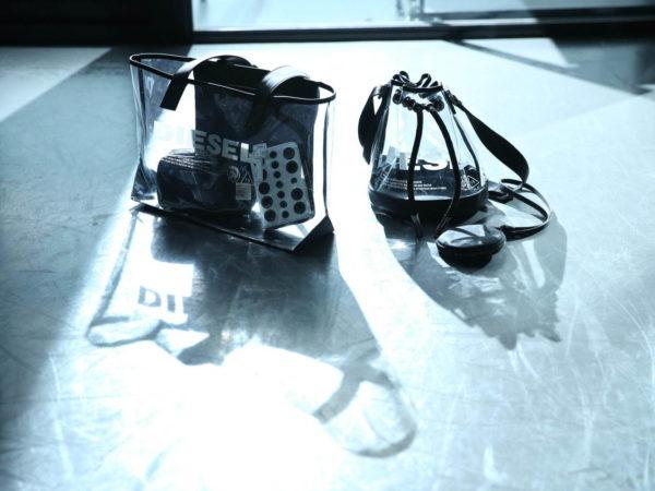 ディーゼルの日本限定PVCバッグ