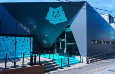 ティファニーが、原宿キャットストリートに日本初カフェ併設の限定ストア
