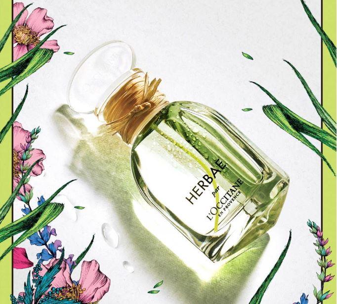 """ロクシタンから、""""緑豊かな草原""""を想起させるボディケア&香水「エルバヴェール」"""
