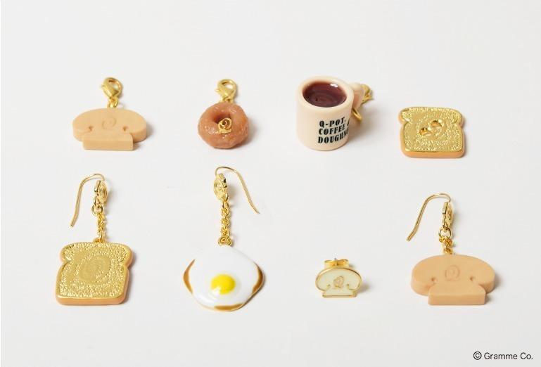 Q-pot.から、「朝食」アクセサリー