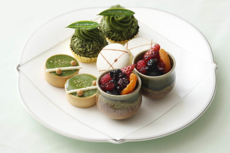 ウェスティンホテル東京で抹茶のデザートブッフェ&アフタヌーンティー
