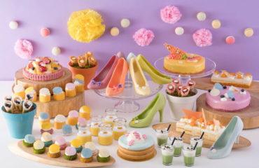パステルカラーのスイーツブッフェがスイスホテル南海大阪で開催