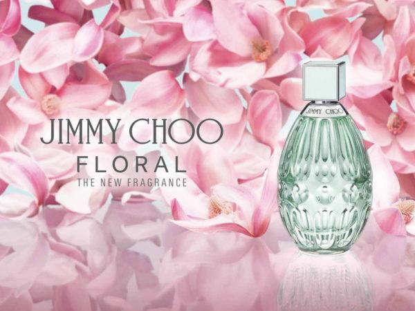 """ジミー チュウ""""満開の花々を閉じ込めた""""ウィメンズ香水「ジミー チュウ フローラル」"""