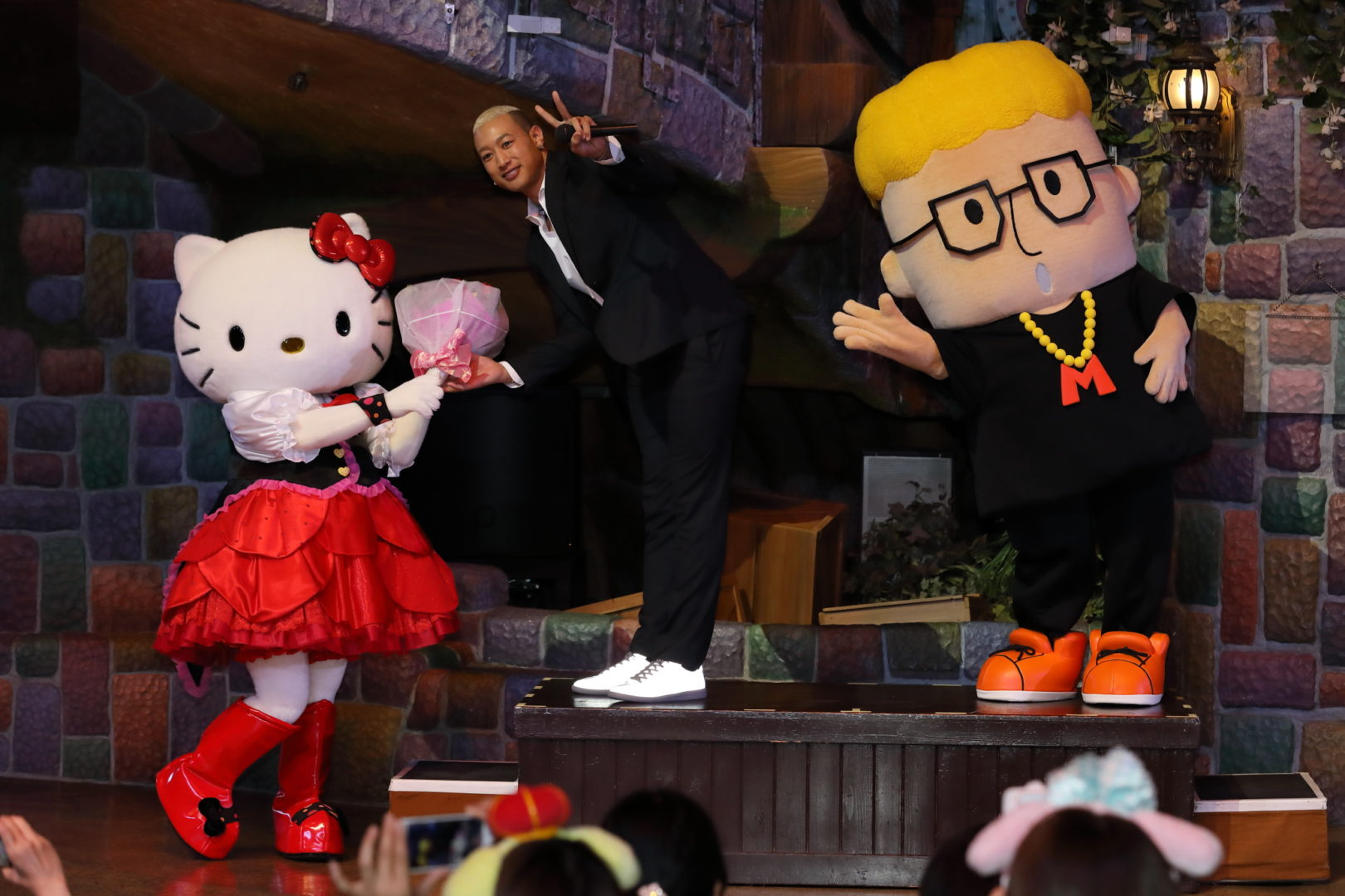 『2019年サンリオキャラクター大賞』結果発表会コラボ部門 ハローメンディーが1位を獲得
