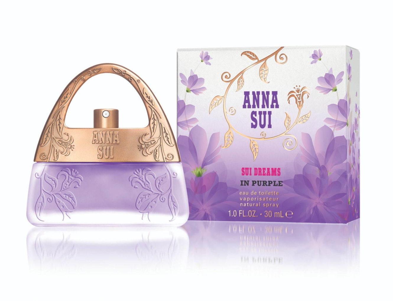 アナ スイ人気香水「スイ ドリームス」にパープルの新作