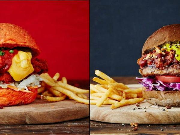 J.S. バーガーズ カフェから、2種類の旨辛バーガー