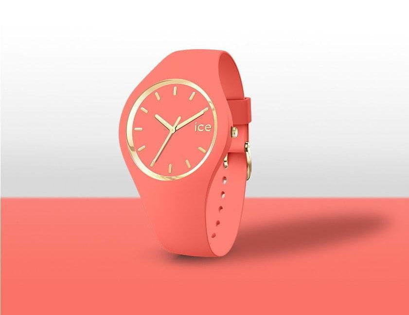 アイスウォッチから、珊瑚カラーの新作腕時計「アイス グラム コーラル」