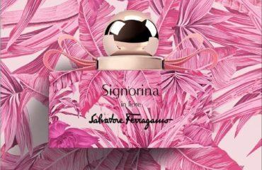 サルヴァトーレ フェラガモから、ナシシャーベット&花の香水「シニョリーナ イン フィオーレ」