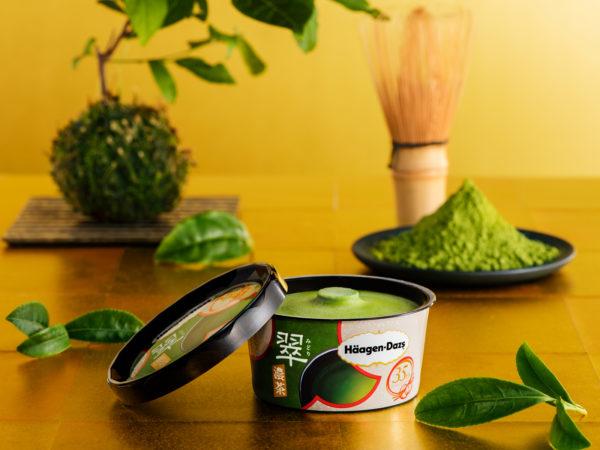 ハーゲンダッツから、35周年記念商品『翠~濃茶~』