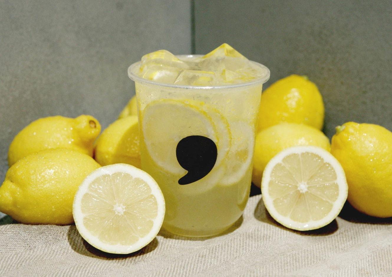コンマティーから、生絞りレモンの新ドリンク「comma レモネード」「ハニーレモネード」