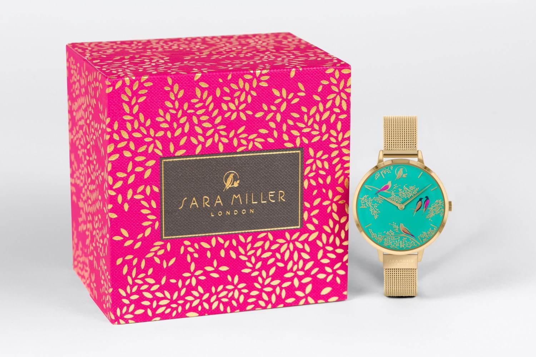 イギリス発ライフスタイルブランド「サラミラーロンドン」の腕時計