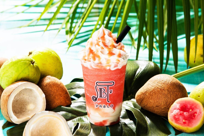 パブロから、夏スムージー「パブロスムージー 真夏のグアバとココナッツ」