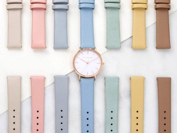 """アレットブランから、""""33色""""のベルトカラーを選べる腕時計「パレットコレクション」"""