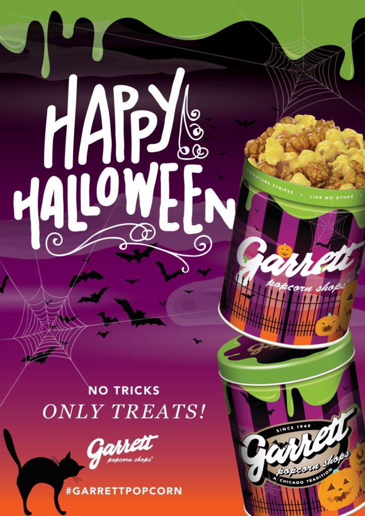 ギャレット ポップコーン ショップス®から、『Halloween缶』