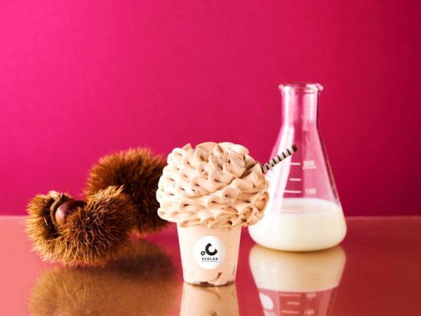 ソフトクリーム専門店・ディグラボから、新作メニュー「エアリーソフトクリーム マロン」