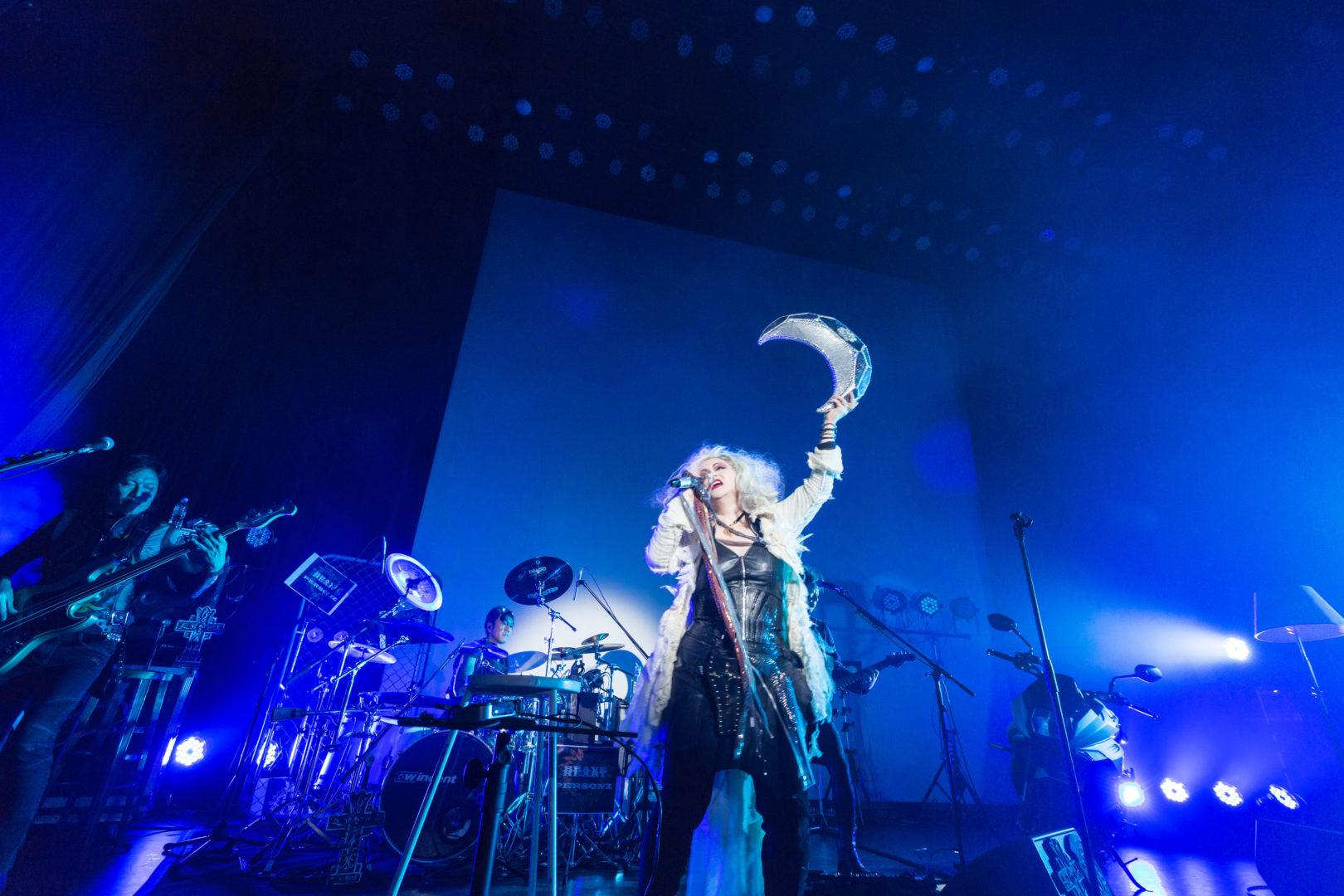 PERSONZ結成35周年企画[NEWS 03]『「HEART OF GOLD」LIVE+STORY PERFORMANCE PERSONZ+原田美枝子+左右田薫』