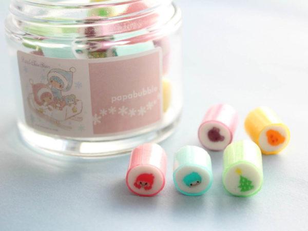 サンリオ「キキ&ララ」×パパブブレ、コラボレーションキャンディ