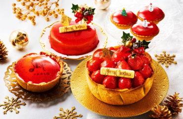 """パブロから、クリスマス限定""""たっぷりいちご""""のチーズタルト"""