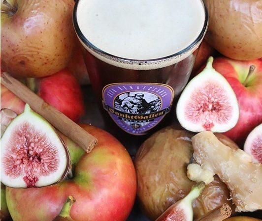 「ウィンターフルーツタルトエール」いちじくタルトイメージの限定フルーツビール