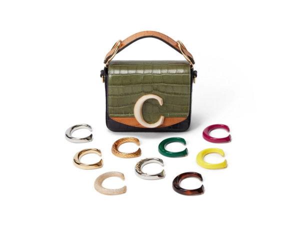 クロエ初カスタマイズ可能な「クロエ C」バッグ