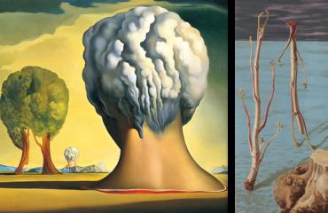 ポーラ美術館で、「シュルレアリスムと絵画 ―ダリ、エルンストと日本の『シュール』」