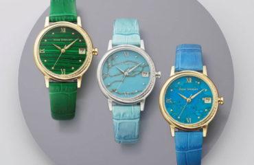 スタージュエリーから、2つの月が煌めく限定腕時計「STONE FACE WATCH」