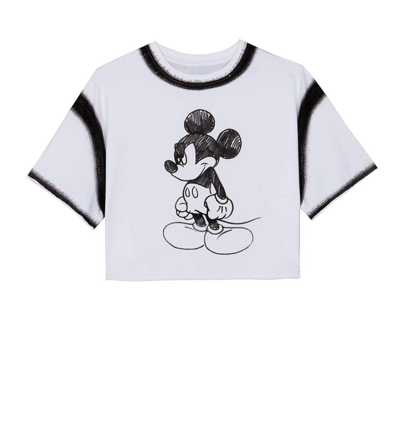 """ベルシュカから、""""フリーハンド""""で描いたミッキーマウスのウィメンズ&メンズアイテム"""