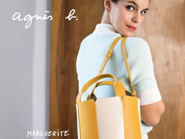 アニエスベーから、新作レザーバッグ「マルグリット」