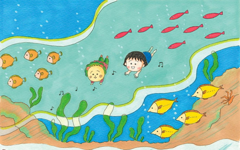ちびまる子ちゃんとコジコジの絵本コラボグッズの「まる子とコジコジ おかわりフェア」