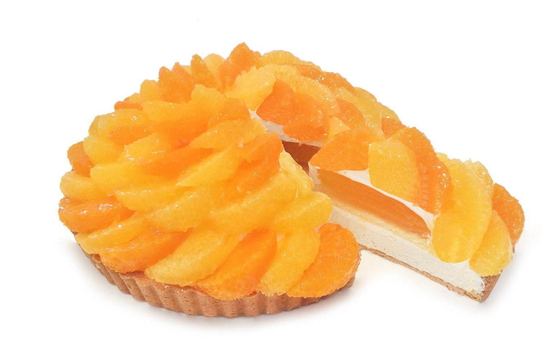カフェコムサから、愛媛県産みかんを使った限定の「オレンジケーキ」