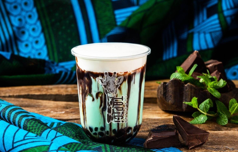 タピオカチーズティー専門店「タピチ ティースタンド」から、チョコミント味の限定メニュー