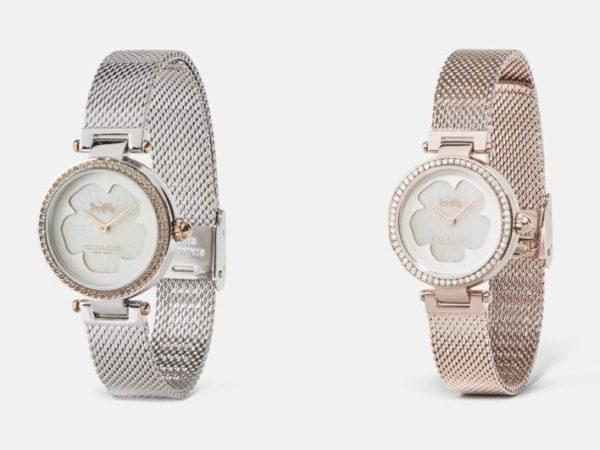コーチの人気腕時計「パーク」に、新作「パーク 34MM」