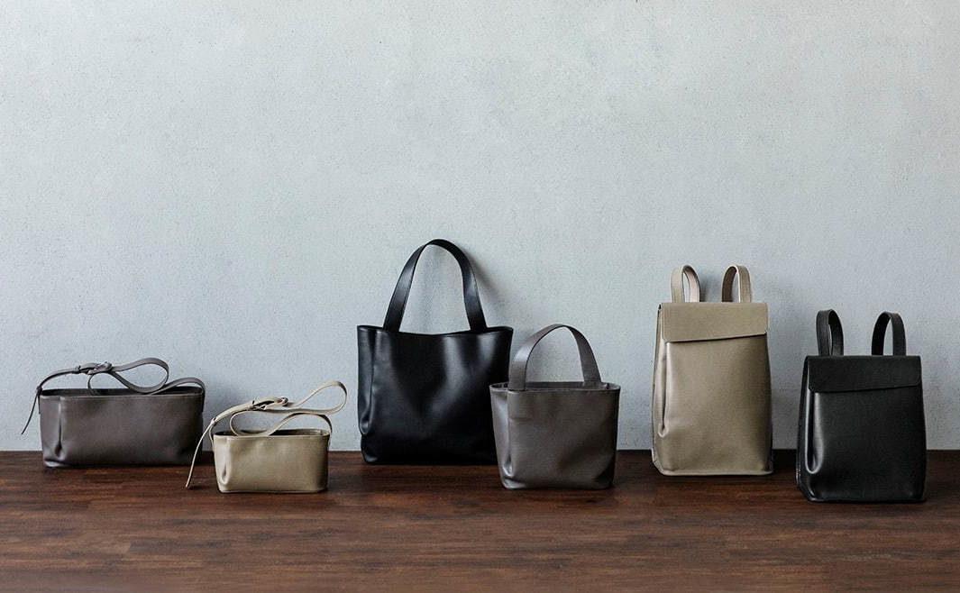 土屋鞄製造所から、水の波紋を思わせる新作「ナミ(Nami)」