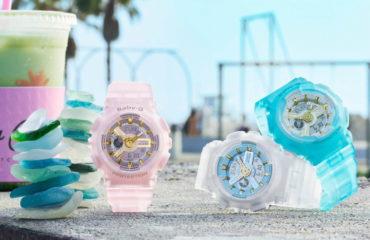 "BABY-Gの新作、浜辺の宝石""シーグラス""を表現した「シーグラス・カラーズ」"