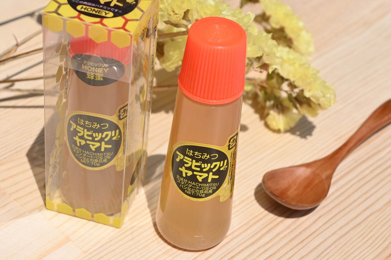 アラビックヤマト容器の蜂蜜「はちみつアラビックリ⁉ヤマト」