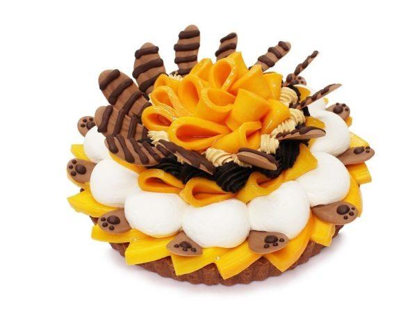 """カフェコムサから、""""ラスカル""""をイメージしたスペシャルケーキ"""