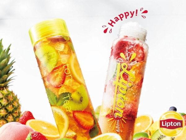 """リプトンから、紅茶×たっぷり果実の新感覚""""パフェ氷""""「フルーツインティー」"""
