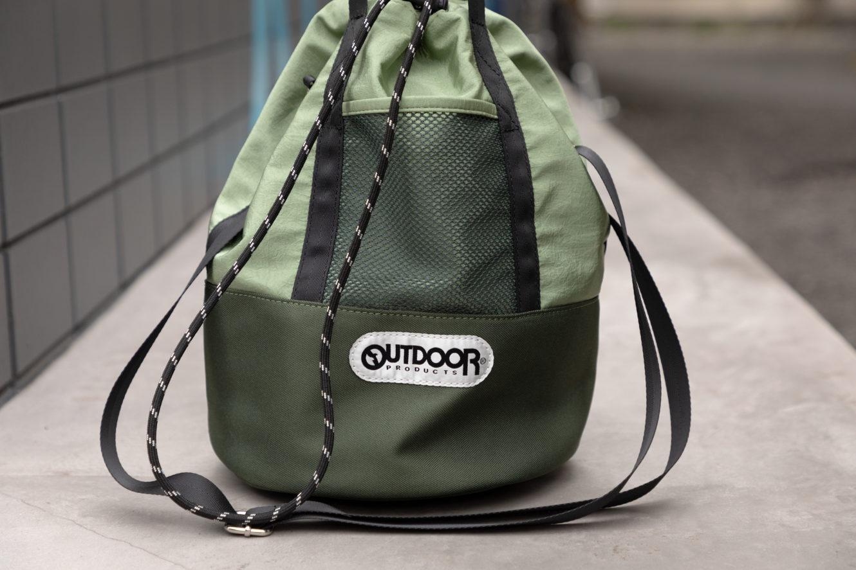 ROSE BUDから、2通りの使い方が楽しめるOUTDOOR PRODUCTS別注バッグ