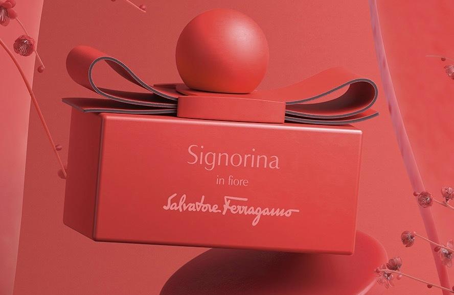 サルヴァトーレ フェラガモから、鮮やかカラー限定ボトルの香水「シニョリーナ」