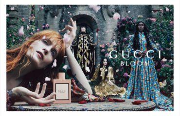 グッチの人気フレグランスコレクション「グッチ ブルーム」の新広告キャンペーン