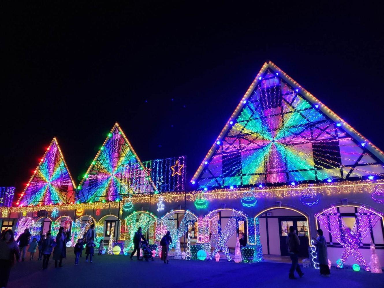 東京ドイツ村、約300万球輝く「東京ドイツ村ウインターイルミネーション2020-2021」