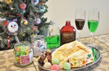 パパブブレから、人気のミックスキャンディが、クリスマスデザイン