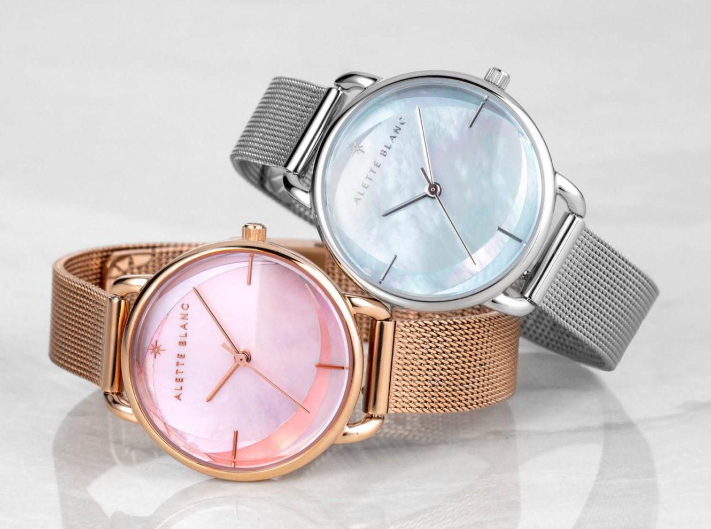 """アレットブランから、""""そよかぜ""""を表現した新作腕時計「ブリーズ コレクション」"""