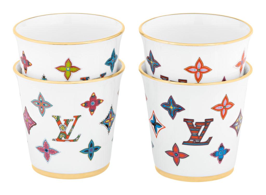 ルイ・ヴィトンから、陶器の新作ギフト・コレクション「プレート・セット」と「カップ・セット」