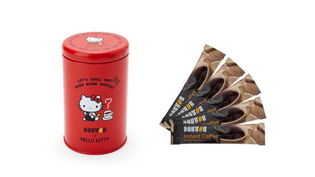 """""""コーヒーを楽しむ""""ハローキティの雑貨も マグカップ&コーヒー 1,980円(税込)"""